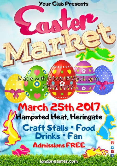 Easter Market Poster