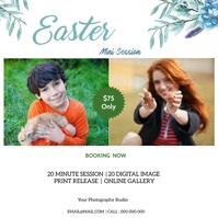 Easter Mini Session Instagram Plasing template