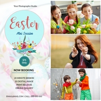Easter Mini Session Message Instagram template