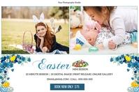 Easter Mini Session Etykieta template