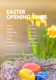 Easter Opening Times Retail Shop Holidays