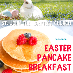 Easter pancake breakfast instagram