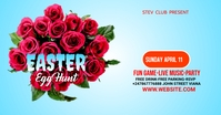 Easter party Umkhangiso we-Facebook template