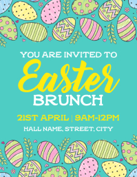 Easter Brunch Flyer (US Letter) template
