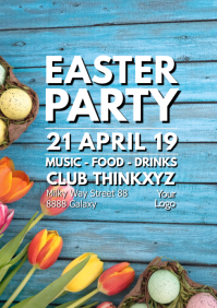 Easter Party Event Teamplate