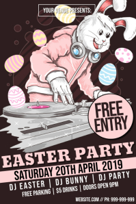 Easter Party Poster