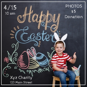 Easter Photo Poster