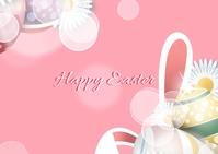Easter Postcard 明信片 template