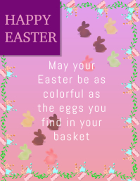 customizable design templates for easter cards postermywall