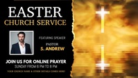 easter prayer, easter, church, worship Encabezado de blog template