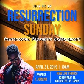EASTER RESURRECTION CHURCH FLYER