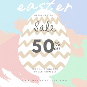 Easter Retail Discount Instagram Template
