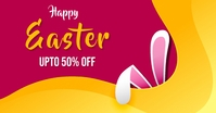 Easter sale,easter,event Facebook 广告 template