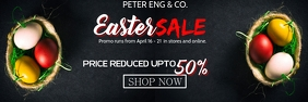 EASTER SALE Banner 2' × 6' template