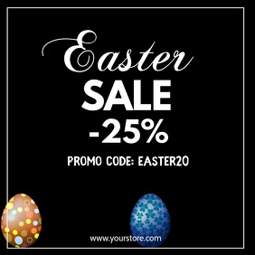 Easter Sale Discount Promotion Price Off shop
