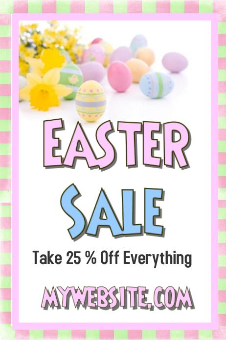 Easter Sale Event Flyer