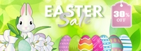 Easter Sale Facebook Cover template