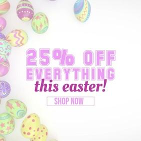 Easter Sale Instagram Promotion