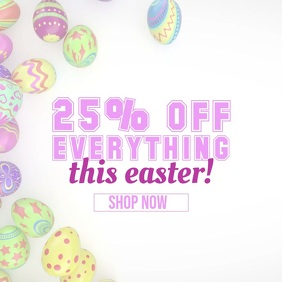 Easter Sale Instagram Promotion
