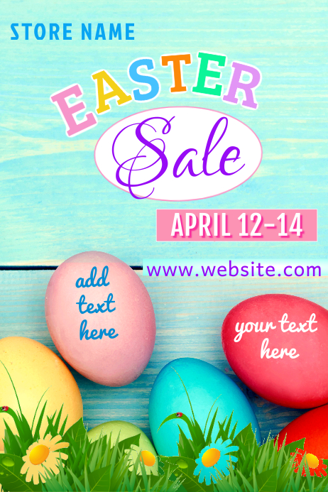 Easter Sale Poster