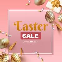 Easter Sale Poster Flyer Instagram 帖子 template