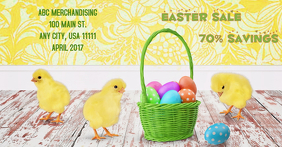 Easter Sale Template