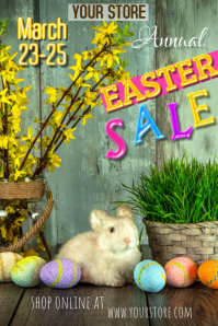 EASTER SALE POSTER TEMPLATE