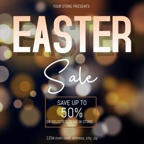 EASTER Sale Video Event Flyer Template