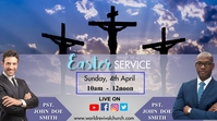 Easter Service Display digitale (16:9) template