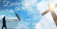Easter Service Special Guest Event Church Onl template