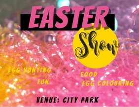easter show template