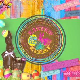 Easter Social Media Business Egg Event Community Kids Family