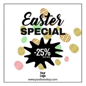 Easter Special Sale Dicount Price Off Shop ad