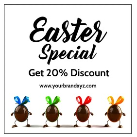 Easter Special Sale Discount Price Off Advert
