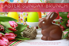 Easter Spring Bunny Rabbit Egg Hunt Sunday Bloom Brunch Tea