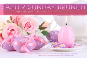 Easter Spring Bunny Rabbit Egg Hunt Sunday Noon Brunch Tea