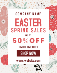 easter spring sales up to 50% off