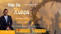 Easter Sunday 数字显示屏 (16:9) template