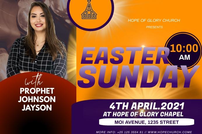 Easter Sunday Tatak template