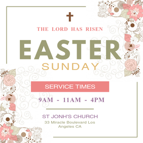 Easter Sunday Instagram Post