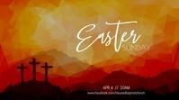 Easter Sunday Service Display digitale (16:9) template