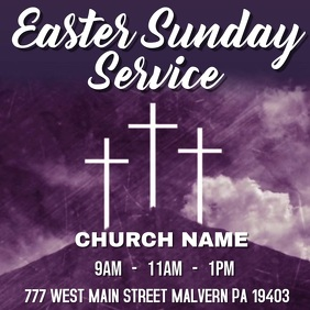 EASTER SUNDAY SERVICE