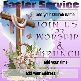 Easter Template Instagram Post