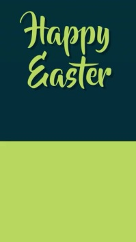 easter template
