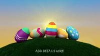 Easter Template Intestazione blog