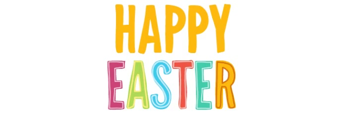 Easter Template ส่วนหัว Twitter
