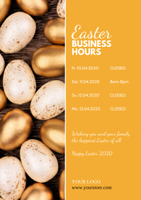 Easter Times Information Business Hours Note