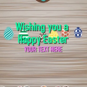 Easter video template