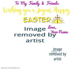 Easter Wishes Template