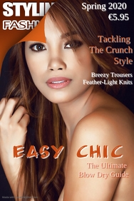 Easy Chic Styling Fashion Magazine Template